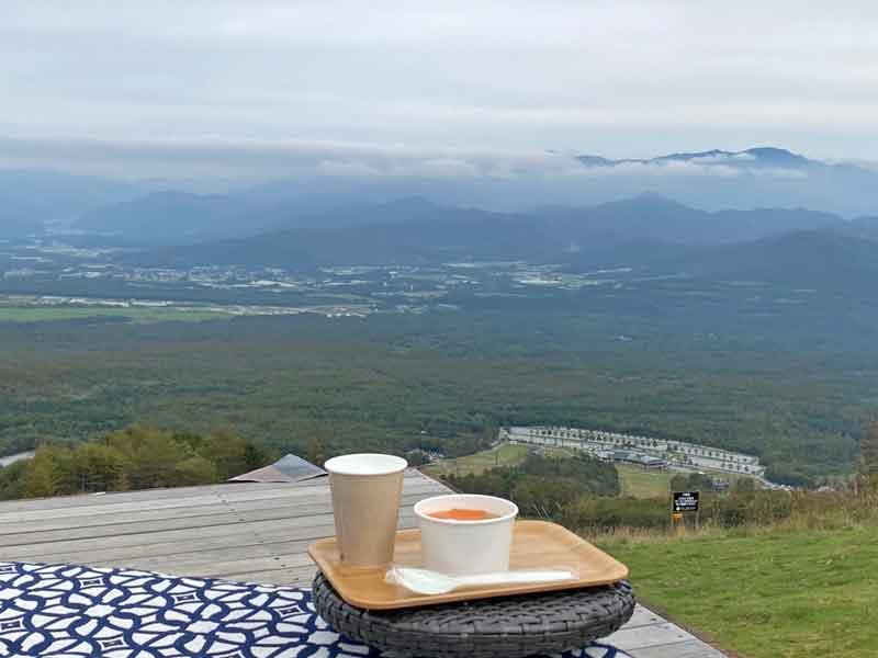 清里テラスとコーヒー