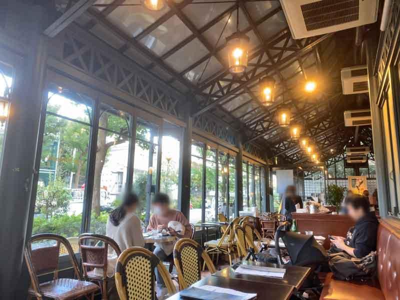 渋谷区代官山のカフェ・ミケランジェロ
