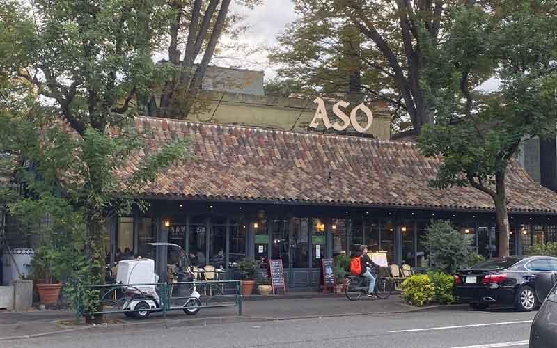 代官山のカフェミケランジェロ
